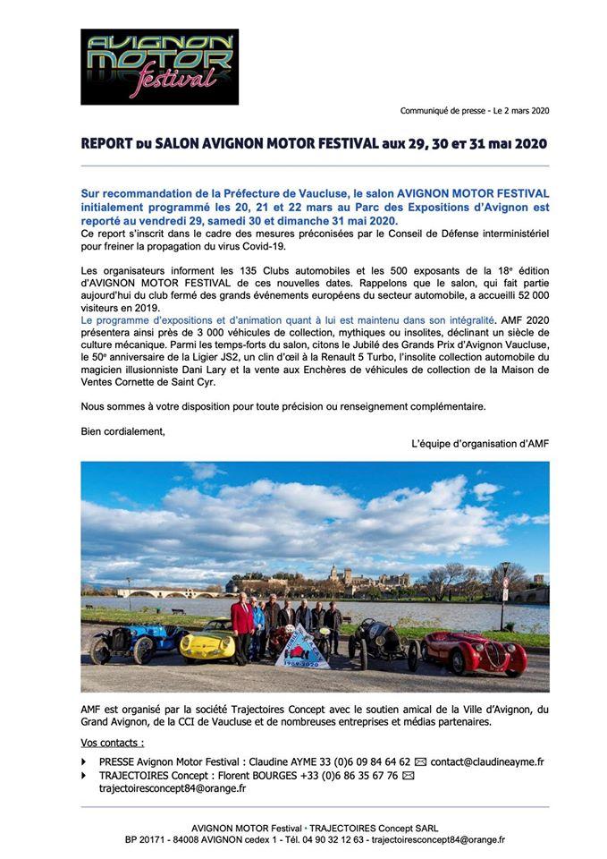 Avignon Motor Festival 2020